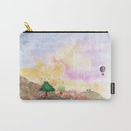 Mystical Landscape Watercolor. Carry-All Pouch