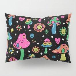 Rainbow Mushrooms Pillow Sham