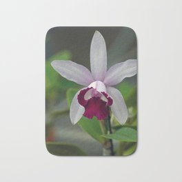 Cattleya Orchid (The Corsage Orchid) Bath Mat