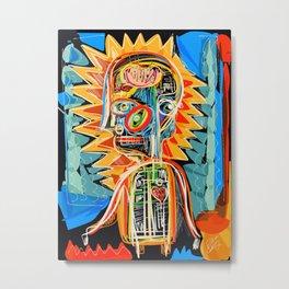"""""""Child"""" street art brut expressionist digital painting Metal Print"""