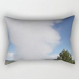 Cloud Of Steam and Water Rectangular Pillow