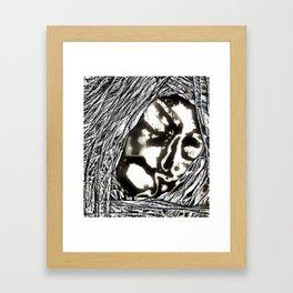 I Said NO ! Framed Art Print