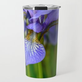 Siberian Iris by Teresa Thompson Travel Mug