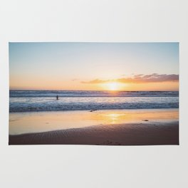 Venice Beach Surfer III Rug