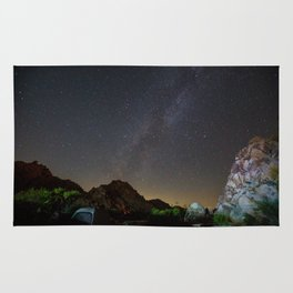 Camping under the Stars Rug