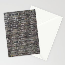 Old brick wall background Stationery Cards