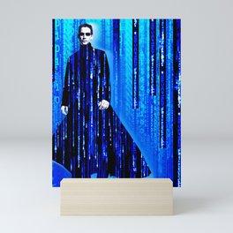 Matrix Neo Keanu Reeves Mini Art Print