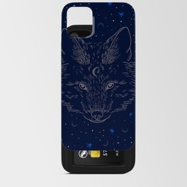 Winter Wolf iPhone Card Case