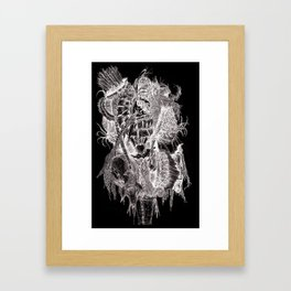 Threadless Live at Marwen: Adam Ramirez Framed Art Print