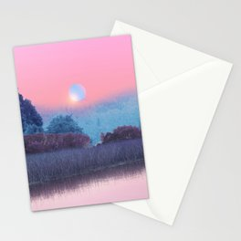 Landscape & gradients XVII Stationery Cards