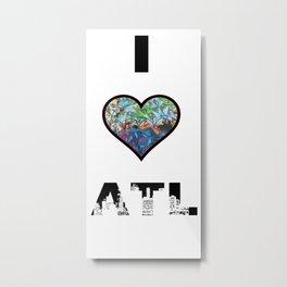 I Heart ATL Metal Print