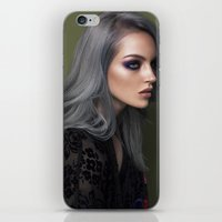 silver iPhone & iPod Skins featuring Silver by Brandon Lundby