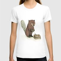 beaver T-shirts featuring Beaver. by Paola Zakimi
