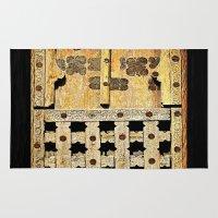 door Area & Throw Rugs featuring Door by Saundra Myles