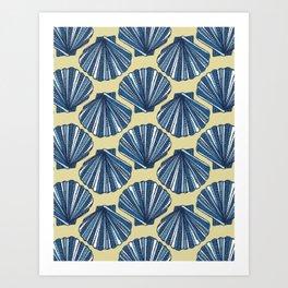 She sells, sea shells Art Print