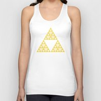 triforce Tank Tops featuring Triforce by Gavin Guidry