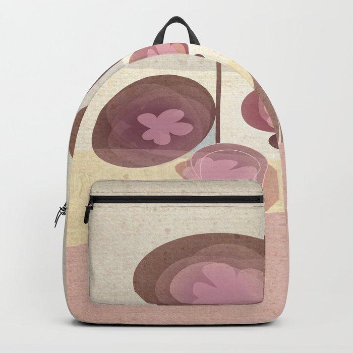 Flowers en Rose Backpack