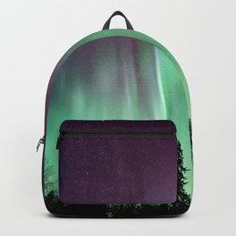 Colorful Northern Lights, Aurora Borealis Backpack