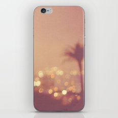 Summer Nights. Los Angeles at night photograph. iPhone & iPod Skin