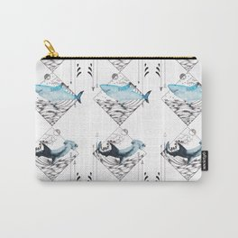 sharks on point Carry-All Pouch