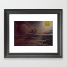 Bright Skies Framed Art Print