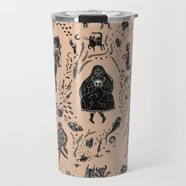 Creatures of the Night (orange) Travel Mug