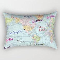 Fashion Capitals Rectangular Pillow