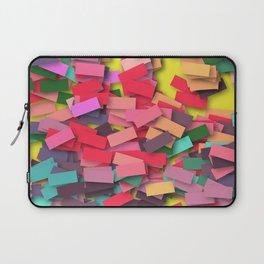 pink colored bricks Laptop Sleeve