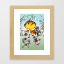 Ichabod's Daisies Framed Art Print