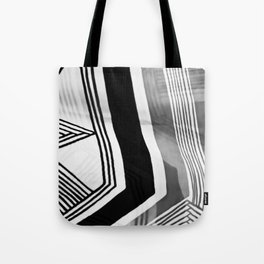 Modern Zebra Abstract Tote Bag