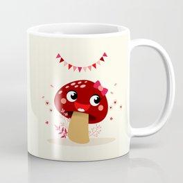 Champignon bordeaux Coffee Mug