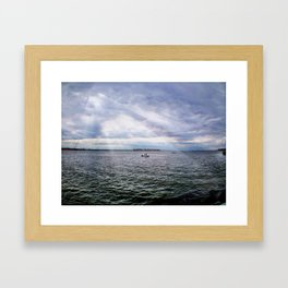 A Day on the Water Framed Art Print