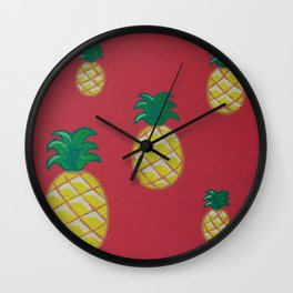 Pineapple express Wall Clock