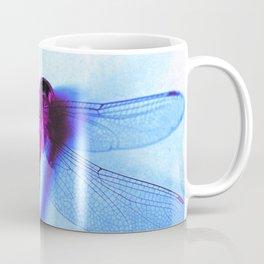 Iridescent Dragon Fly - Digital Photography Art Coffee Mug
