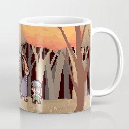 Over the Garden Pixel Coffee Mug