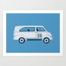 Herb The Love Van Art Print