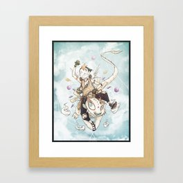 Voyager Spirits-Spirit of childhood Framed Art Print