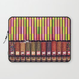 Colorful Candy Store Laptop Sleeve