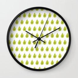 Vulgar Fruit: Profane Pear Wall Clock