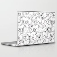 woodland Laptop & iPad Skins featuring Woodland by Lydia Meiying