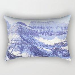 Mountain in winter Rectangular Pillow