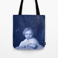 the little prince Tote Bags featuring Little Prince by VINSPIRO