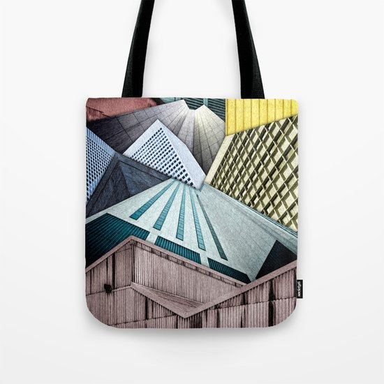 Angles of City Structures Tote Bag