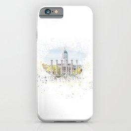 Mizzou Columns Splash iPhone Case