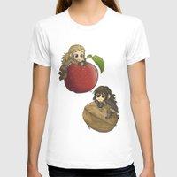 kili T-shirts featuring Apple&Walnut_Fili&Kili by AlyTheKitten