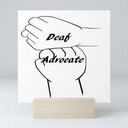Deaf Advocate Mini Art Print