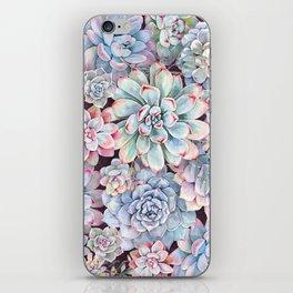 succulent garden 3 iPhone Skin