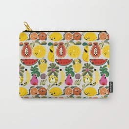 Puppical Fruits Carry-All Pouch