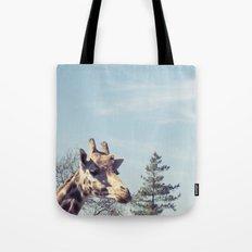 giraffe... Tote Bag