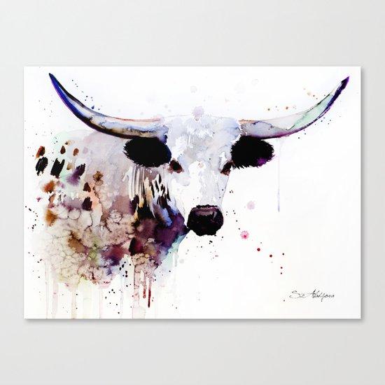 Longhorn Canvas Print